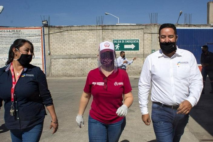 """NORMA LAYÓN CAPACITA A TRABAJADORES DE AMAECSA EN EL PROGRAMA """"CIUDADANOS ACTIVOS POR LA SEGURIDAD""""2 1"""