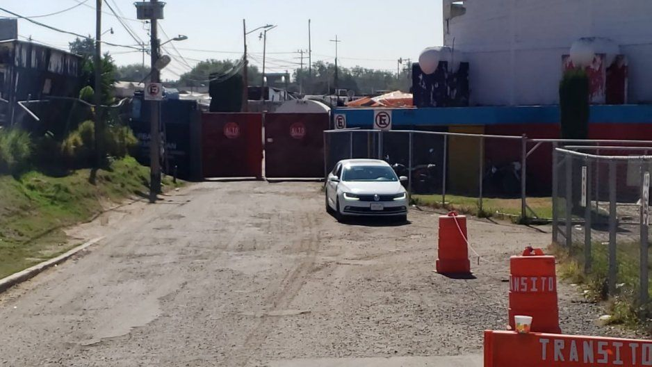 instalaciones transito policia municipal texmelucan acceso