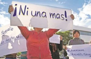 ni una mas feminicidio manifestacion