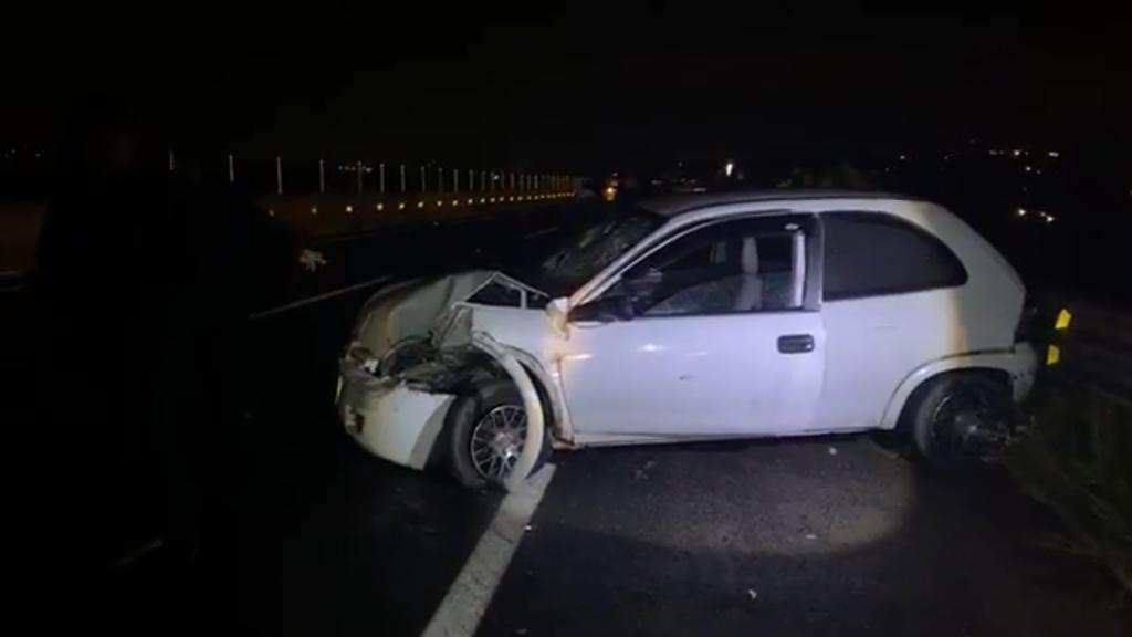 vehiculo accidente carretera