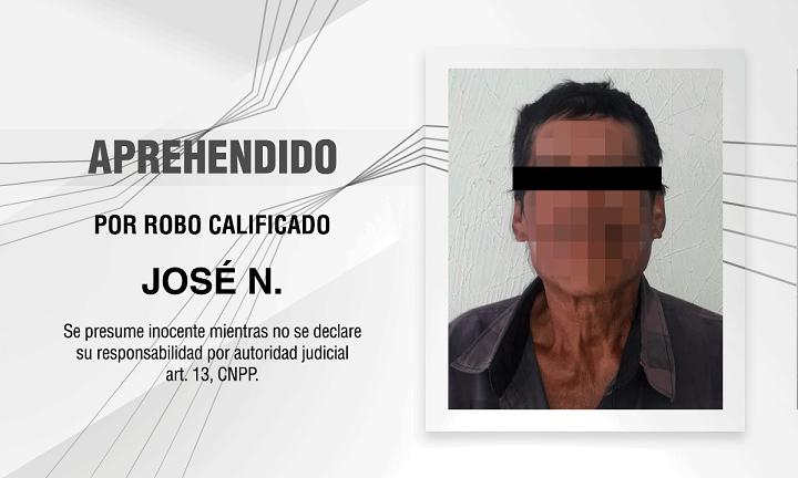 Aprehendido Jose