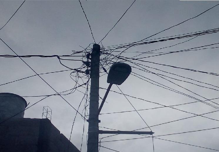 Cables luz electrica