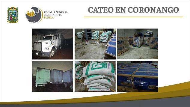 Cateo Coronango Indicios