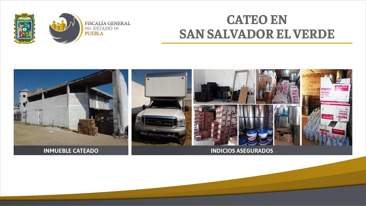 Cateo San Salvador el Verde sa lucas el grahde bodega