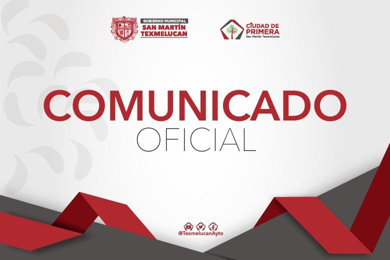 Comunicado Gobierno de