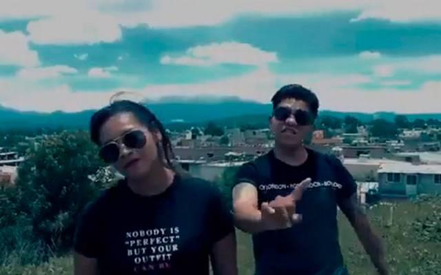 Con rap buscan limpiar imagen delictiva de Moyotzingo