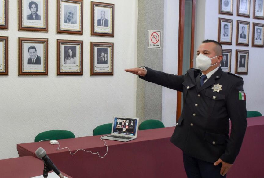 EN SESION EXTRAORDINARIA DE CABILDO TOMA PROTESTA EL NUEVO SECRETARIO DE SEGURIDAD PUBLICA Y TRANSITO MUNICIPAL2