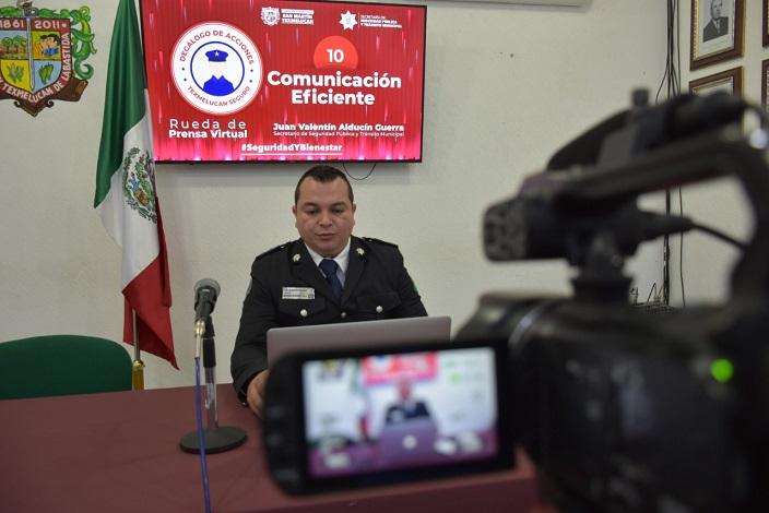 HABITANTES DE JUNTAS AUXILIARES SUMAN ESFUERZOS CON SEGURIDAD PUBLICA MUNICIPAL1