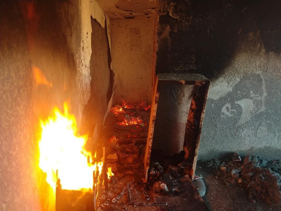 Incendio Huamantla