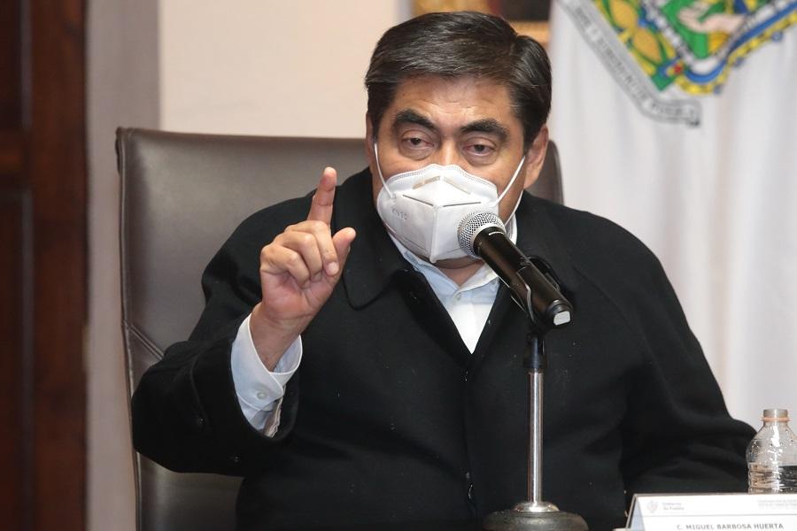 Miguel Barbosa gobernador Puebla