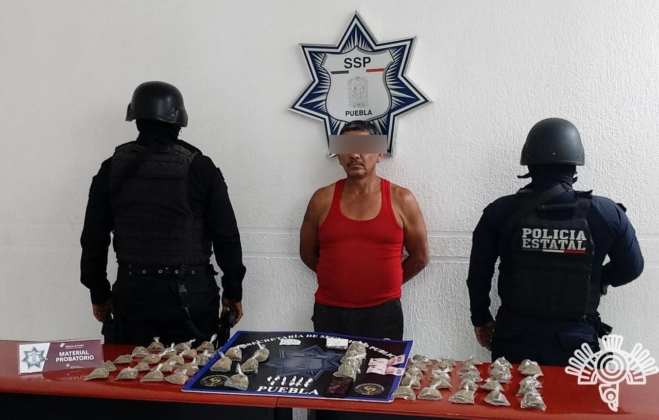 Narcomenudista Puebla 2