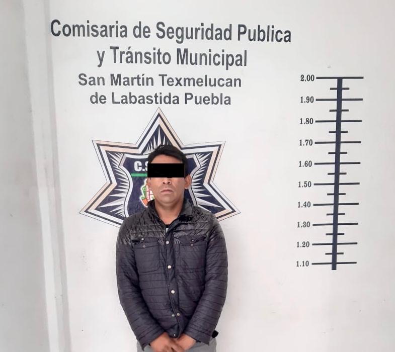 POLICIA DE TEXMELUCAN RECUPERA CAMION DE PRODUCTOS Y DETIENE A LOS PRESUNTOS RESPONSABLES DEL ROBO