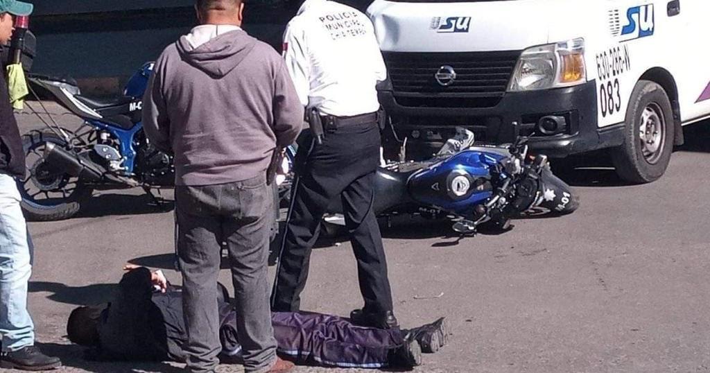 Policia arrollado