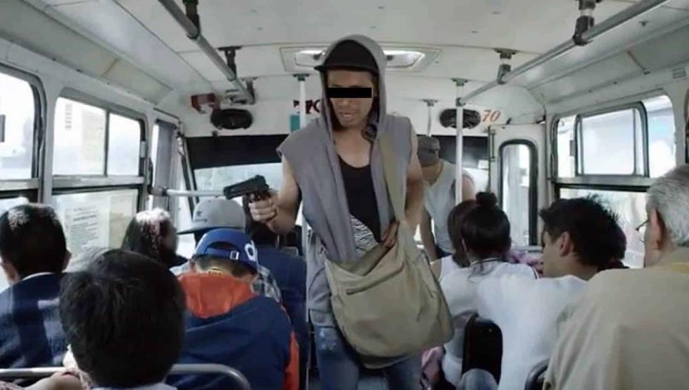 Robo a transporte publico