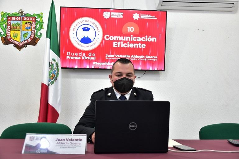 SE PONE ORDEN EN LA SECRETARIA DE SEGURIDAD PUBLICA DE TEXMELUCAN NORMA LAYON1