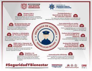 SE PONE ORDEN EN LA SECRETARIA DE SEGURIDAD PUBLICA DE TEXMELUCAN NORMA LAYON3