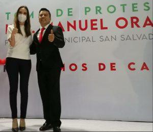 TOMA PROTESTA EL SECO