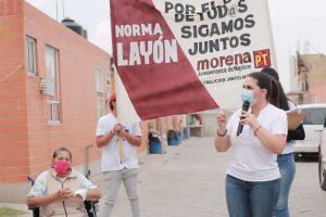 VAMOS A ELIMINAR LA CORRUPCION NORMA LAYON 5