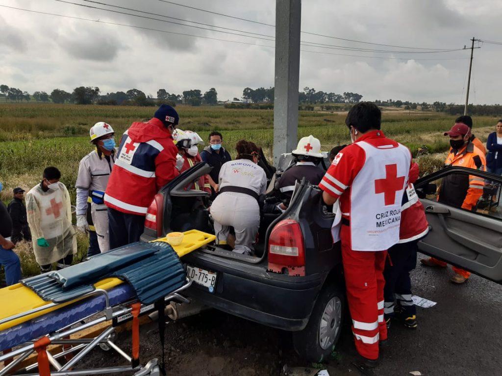 accidente bulevar aeropuerto huejotzingo