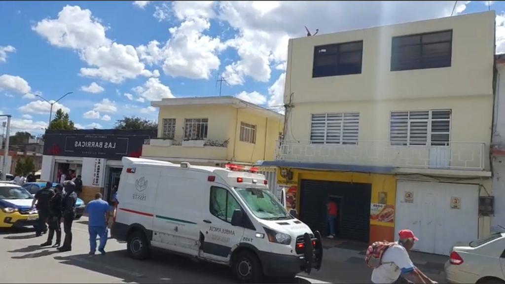 ambulancia apizaco choque