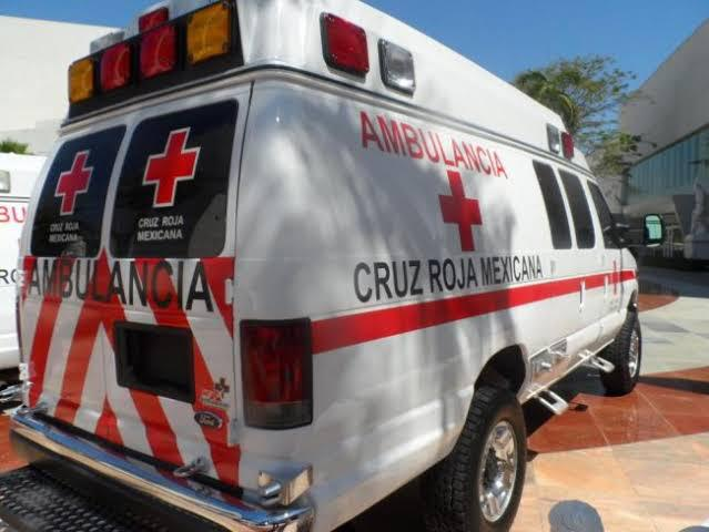 ambulancia cruz roja panotla