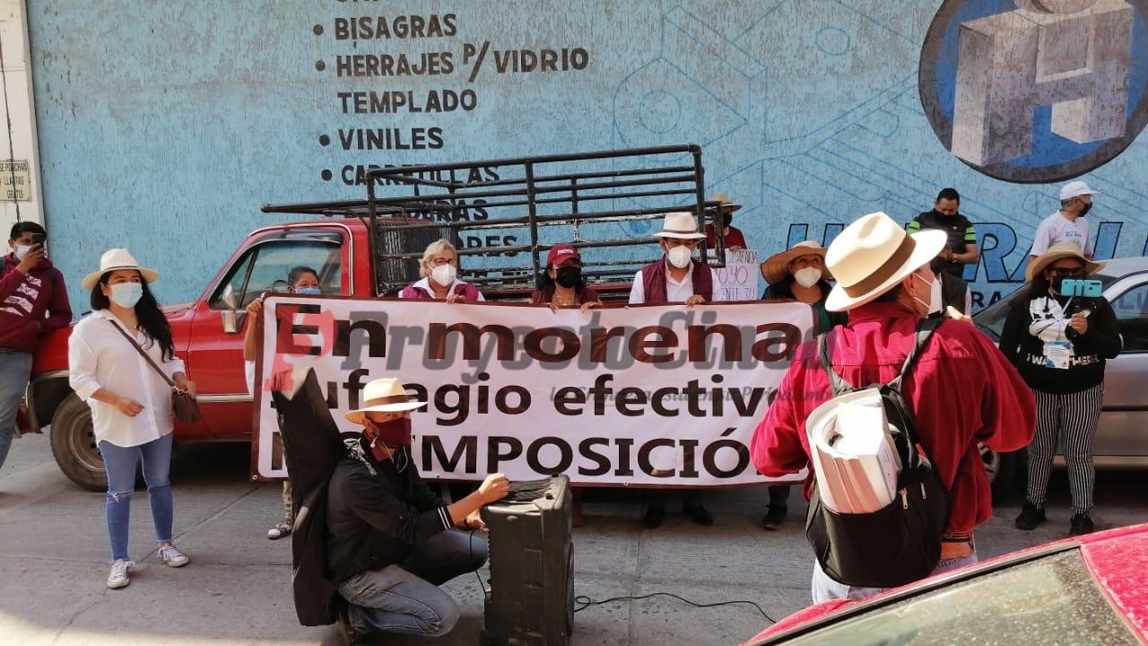 barbara moran vianey garcia manifestacion texmelucan morena
