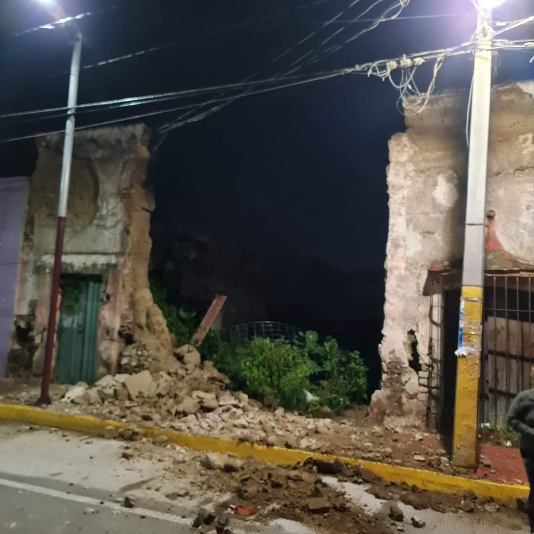 barda de adobe danada en huejotzingo tercer barrio