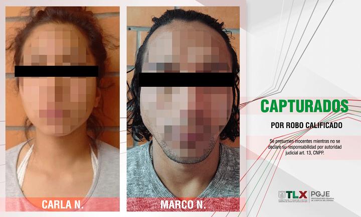 capturados Marco Carla