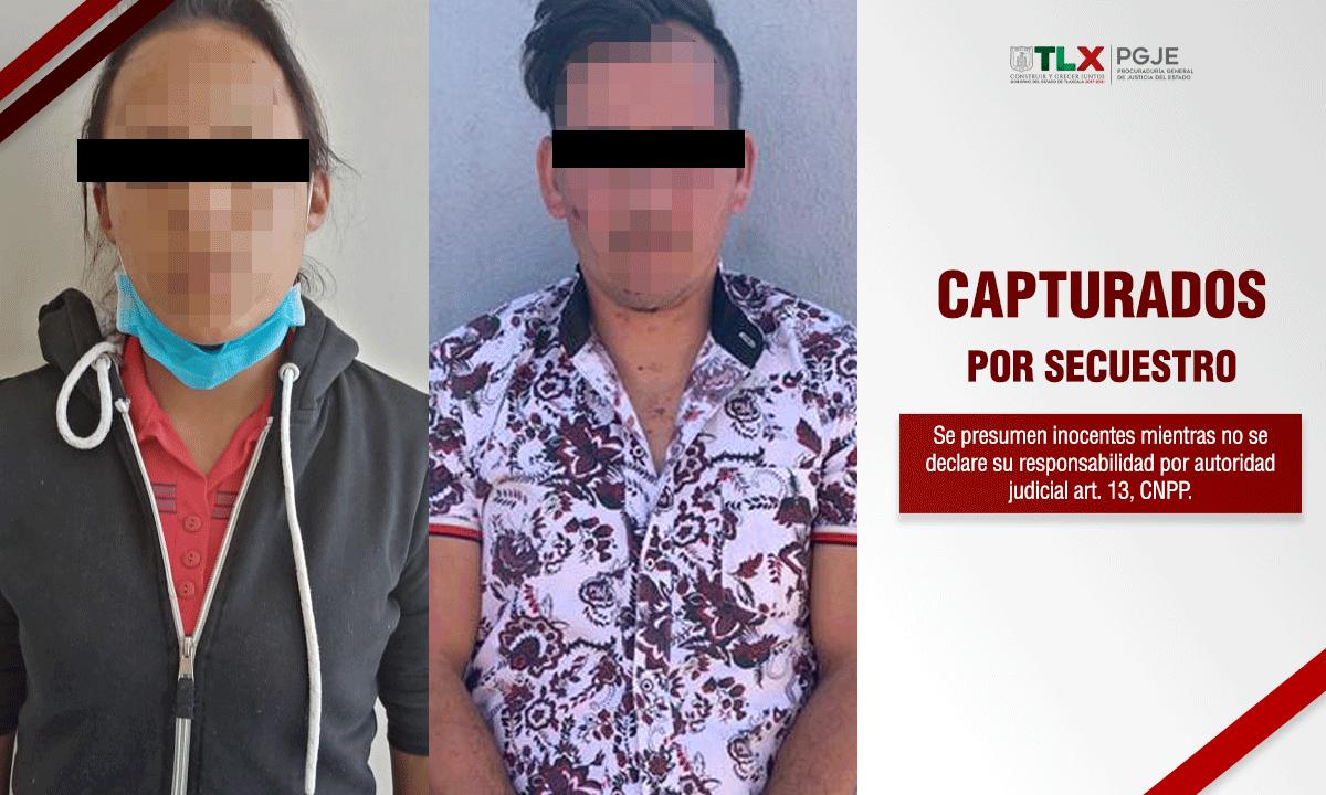capturados secuestro