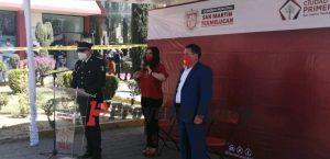 comisario alcaldesa texmelucan seguridad