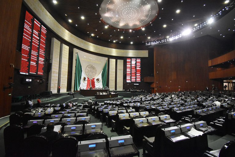 congreso union diputados curules federales