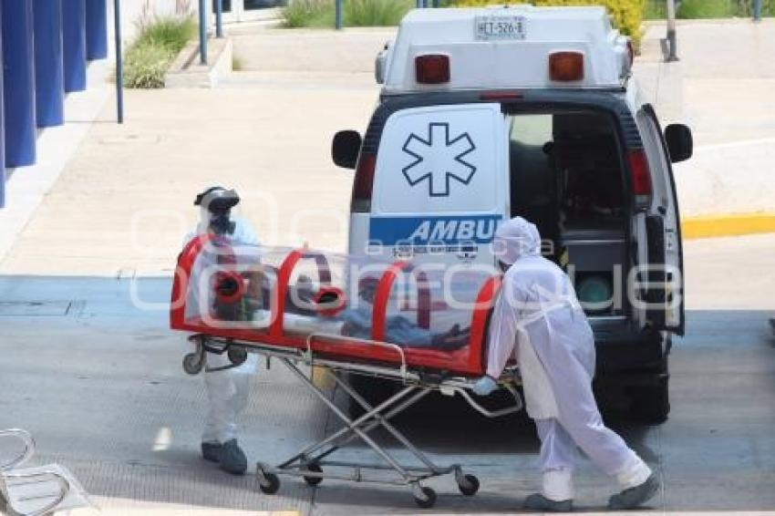 covid traslado paramedicos