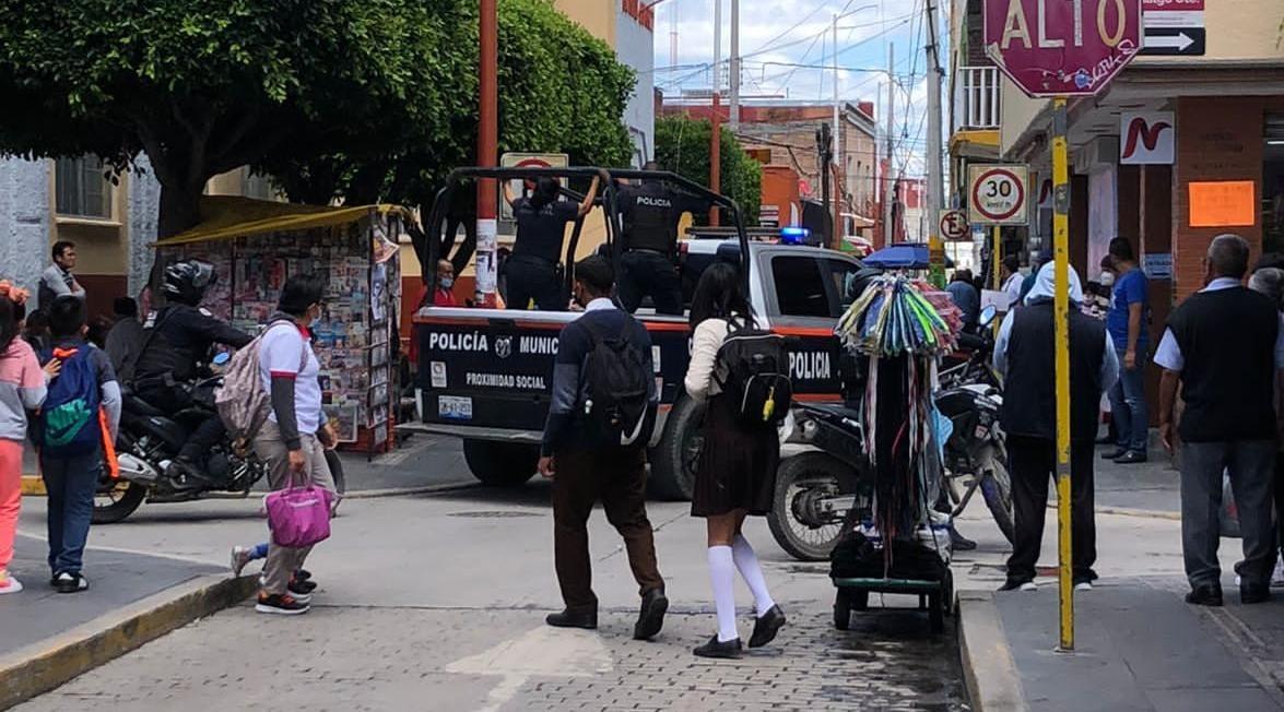 detencion patrulla centro texmelucan policia