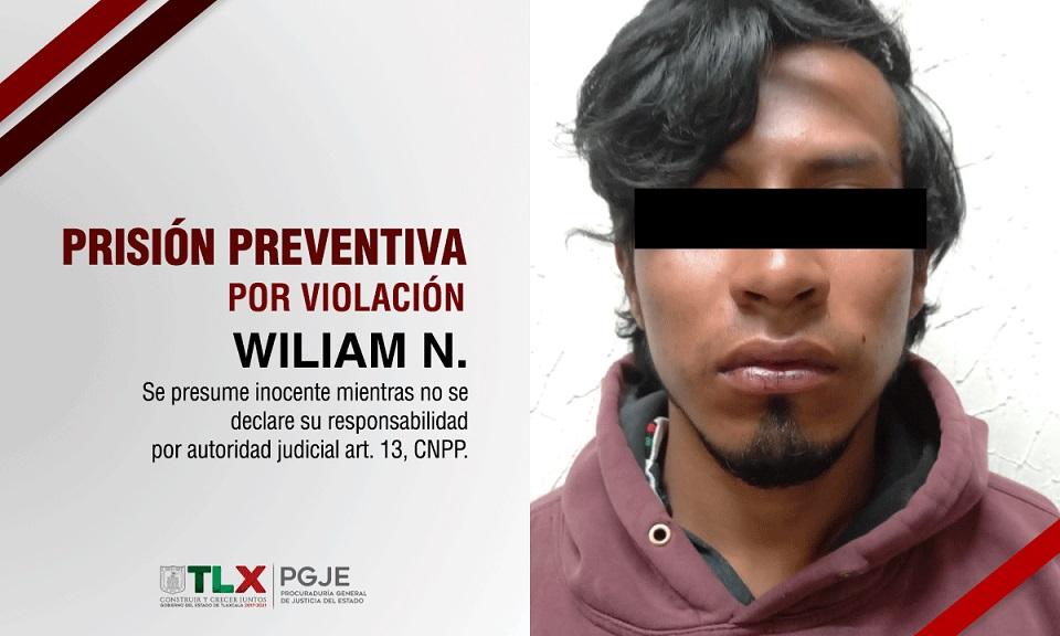 detencion preventiva Wiliam