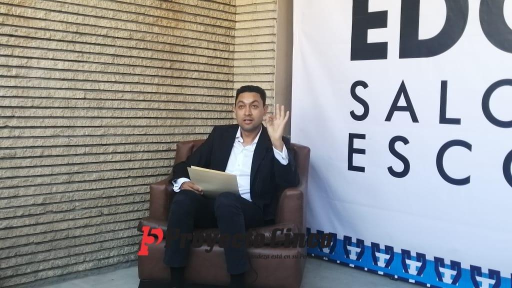 edgar Salomo Escorza candidato