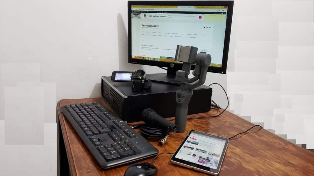 escritorio computadora osmo tableta proyectocinco