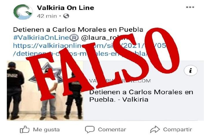 fake detencion carlos