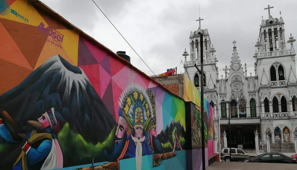 iglesia el carmen huejotzingo murales