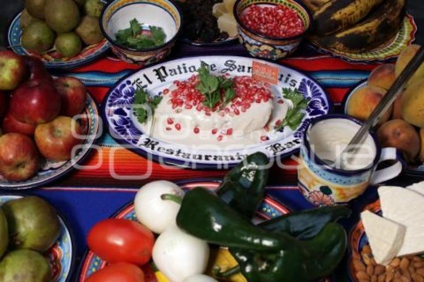 ingredientes chile nogada puebla