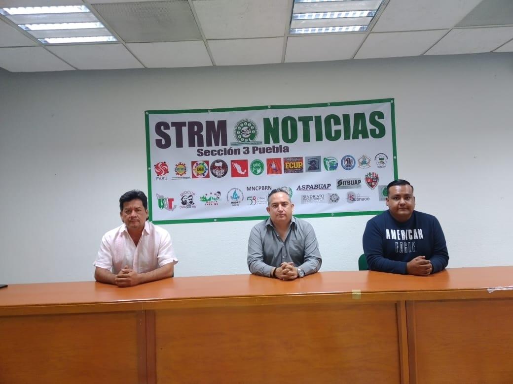 lider sindical Telmex puebla