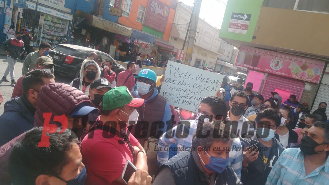 manifestacion ambulantes
