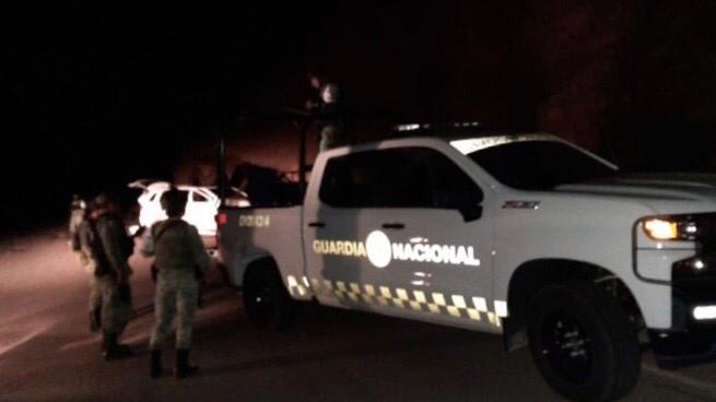 patrulla guardia nacional noche