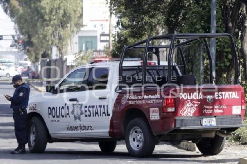 patrulla policia estatal puebla