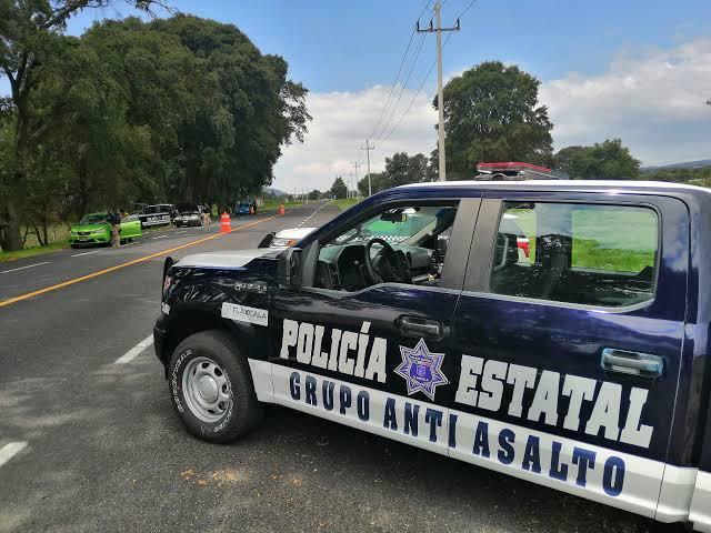 policia estatal tlaxcala patrulla camioneta