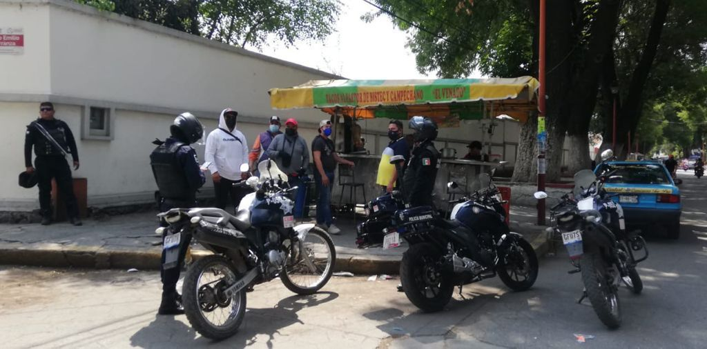 policia municipal texmelucan operativo ambulantes