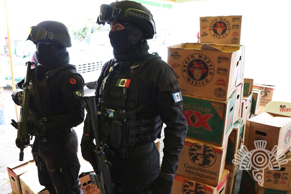 policia operativo alcohol puebla