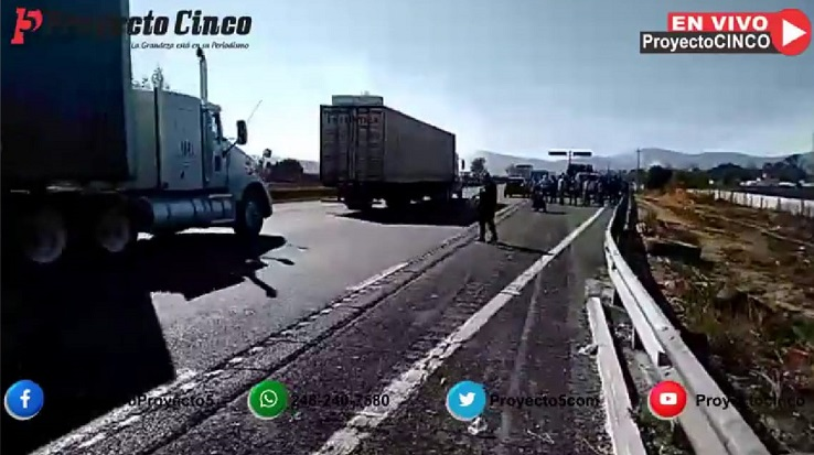 reabren circulacion autopista