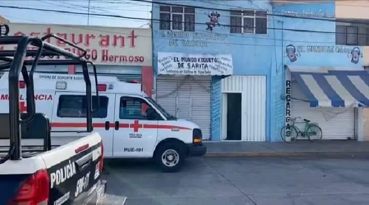 robo ambulancia patrulla huejotzingo seguridad publica