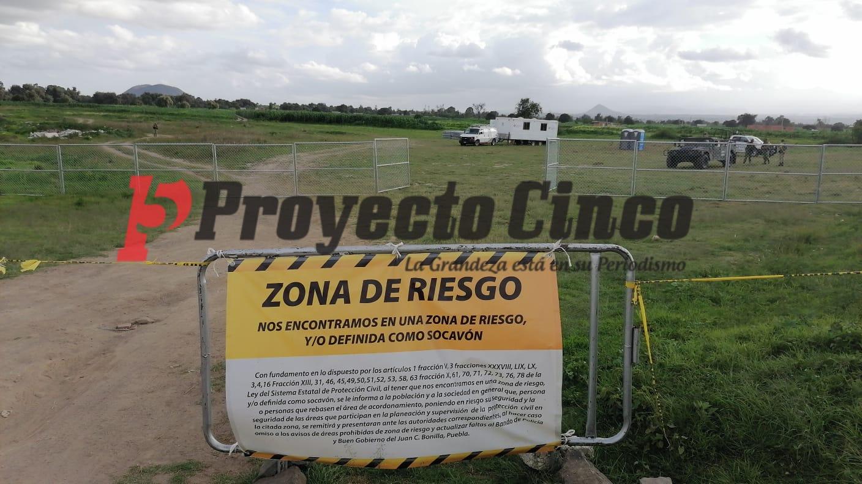 socavon zacatepec malla ciclonica seguridad