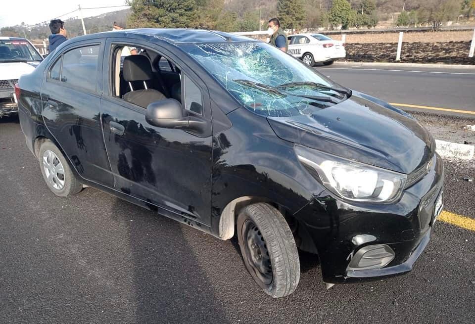 vehiculo accidentado tlaxcala
